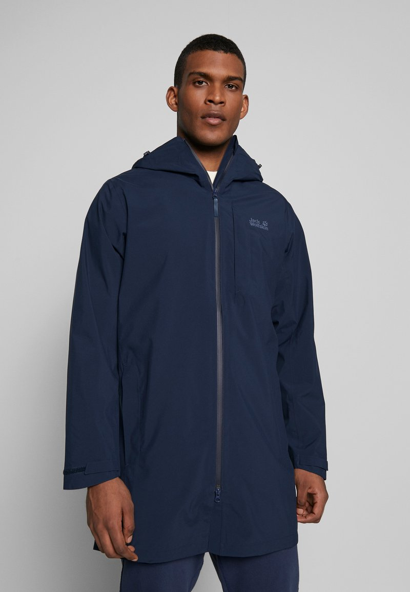 Jack Wolfskin - COAT - Hardshelljacka - night blue