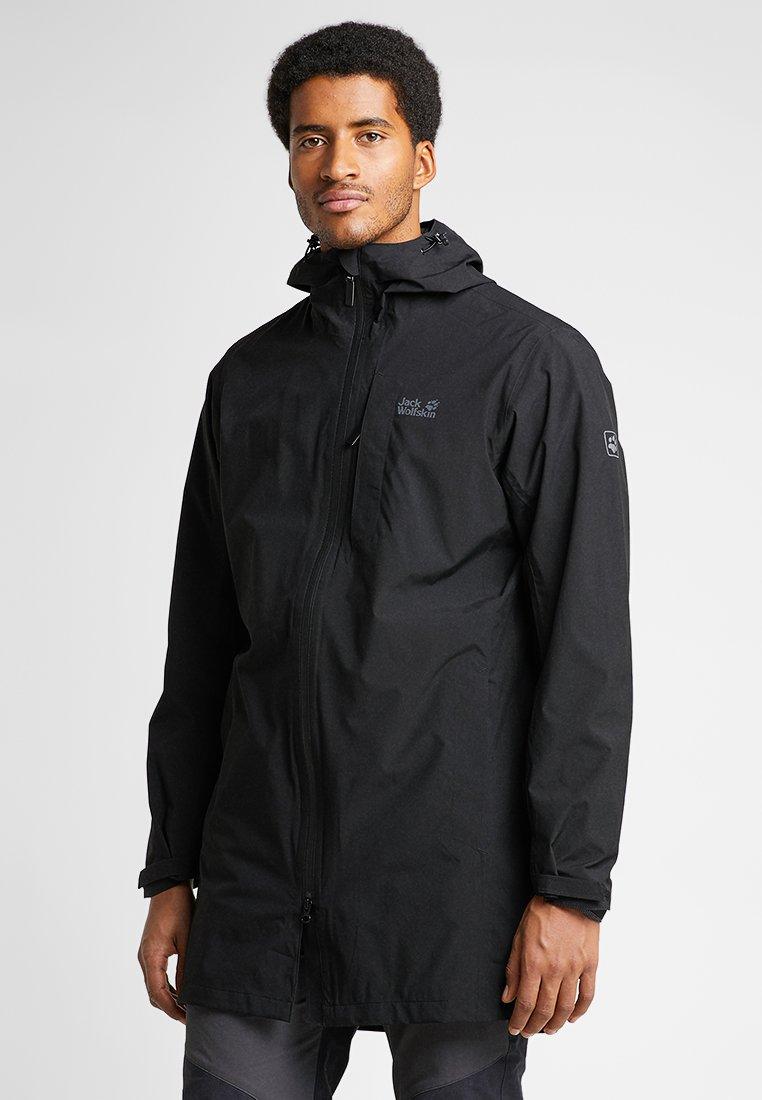Jack Wolfskin - COAT - Hardshell jacket - black