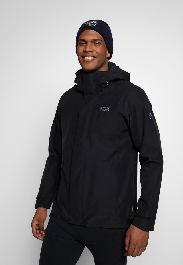SEVEN PEAKS JACKET MEN - Hardshelljacke - black