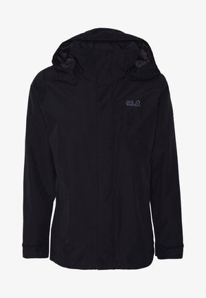 SEVEN PEAKS JACKET MEN - Hardshellová bunda - black