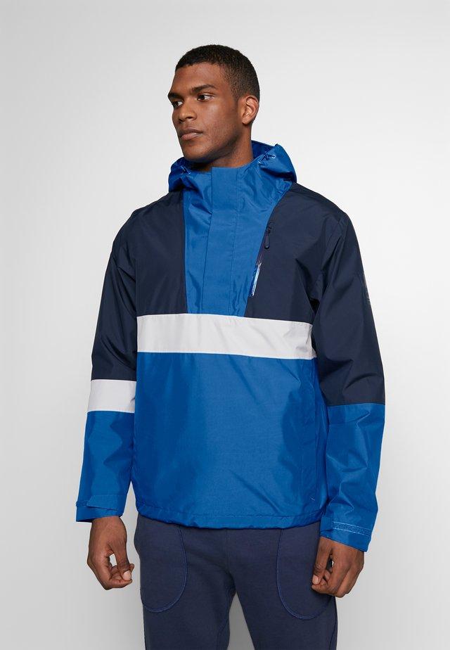 BOOSTER JACKET  - Hardshell jacket - azure blue