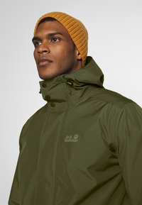 Jack Wolfskin - CAPE POINT JACKET - Hardshelljacka - dark moss - 5
