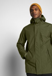 Jack Wolfskin - CAPE POINT JACKET - Hardshelljacka - dark moss - 3