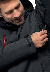 Jack Wolfskin - Snowboard jacket - dark grey - 3