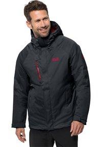 Jack Wolfskin - Snowboard jacket - dark grey - 0