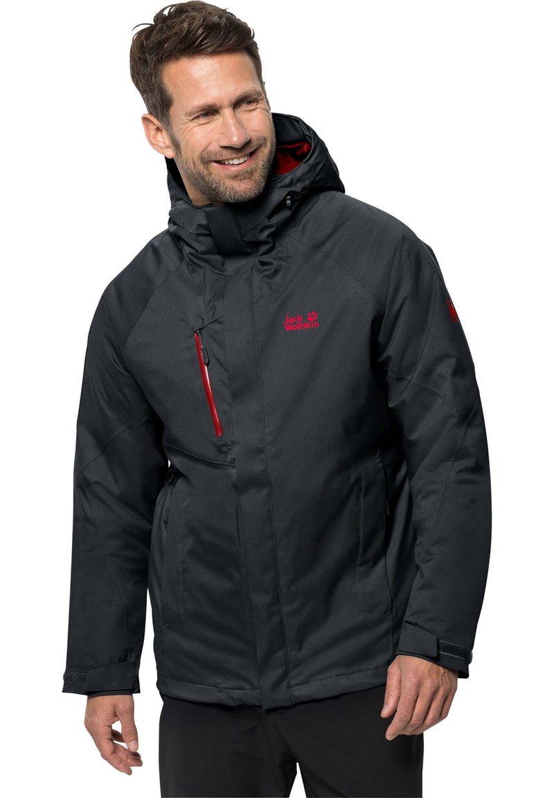 Jack Wolfskin - Snowboard jacket - dark grey