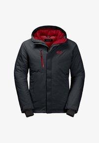 Jack Wolfskin - Snowboard jacket - dark grey - 6