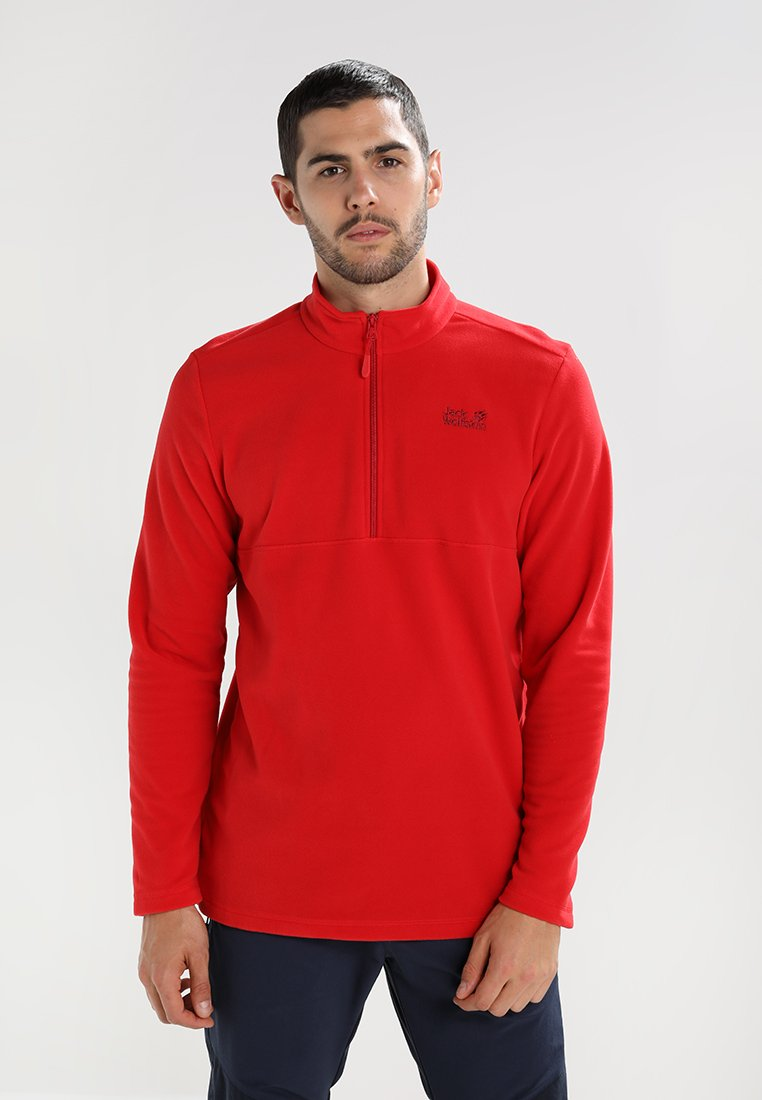 Jack Wolfskin - GECKO - Fleece jumper - ruby red