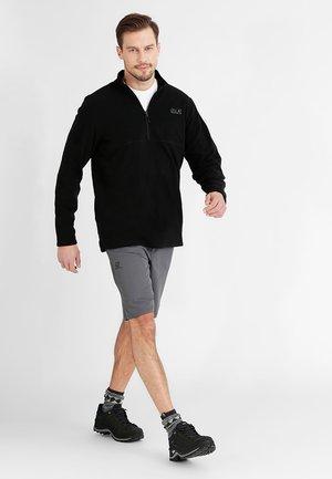 GECKO - Fleece jumper - black