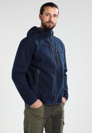 EDMONTON - Fleecová bunda - night blue