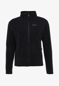 Jack Wolfskin - MOONRISE JACKET MEN - Kurtka z polaru - black - 4