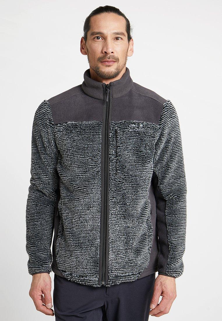 Jack Wolfskin - STONE PINE JACKET - Fleece jacket - slate grey