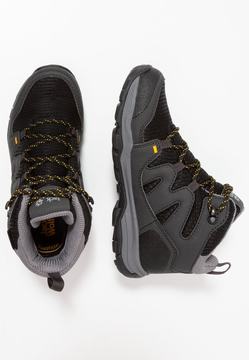 Jack Wolfskin - MTN ATTACK 3 TEXAPORE MID - Hiking shoes - burly yellow