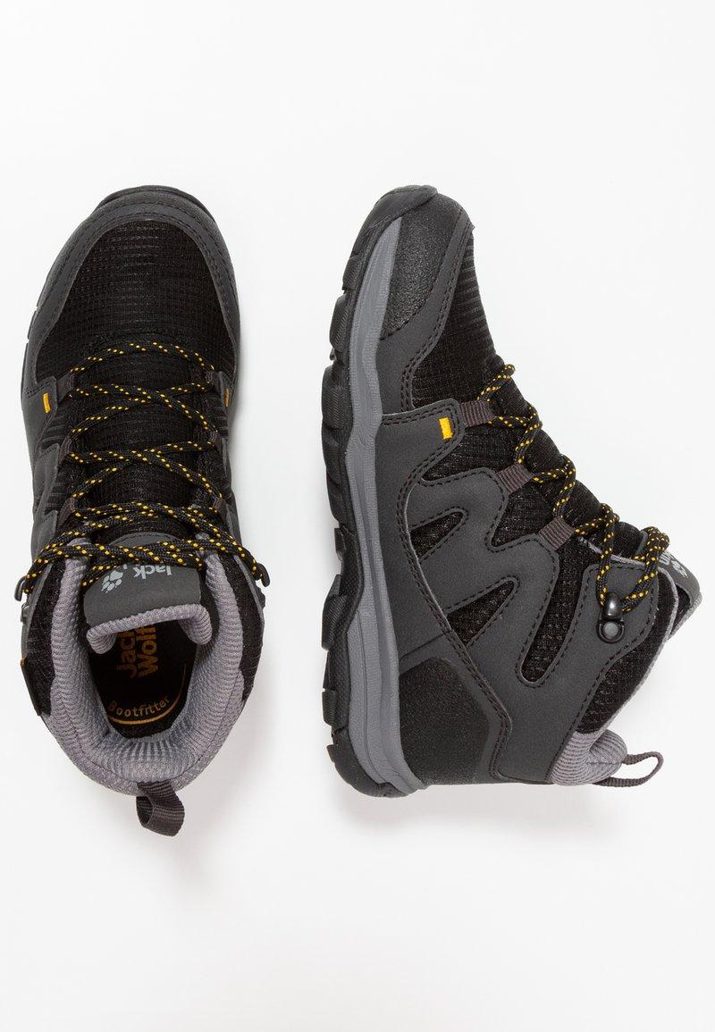 Jack Wolfskin - MTN ATTACK 3 TEXAPORE MID - Hikingschuh - burly yellow