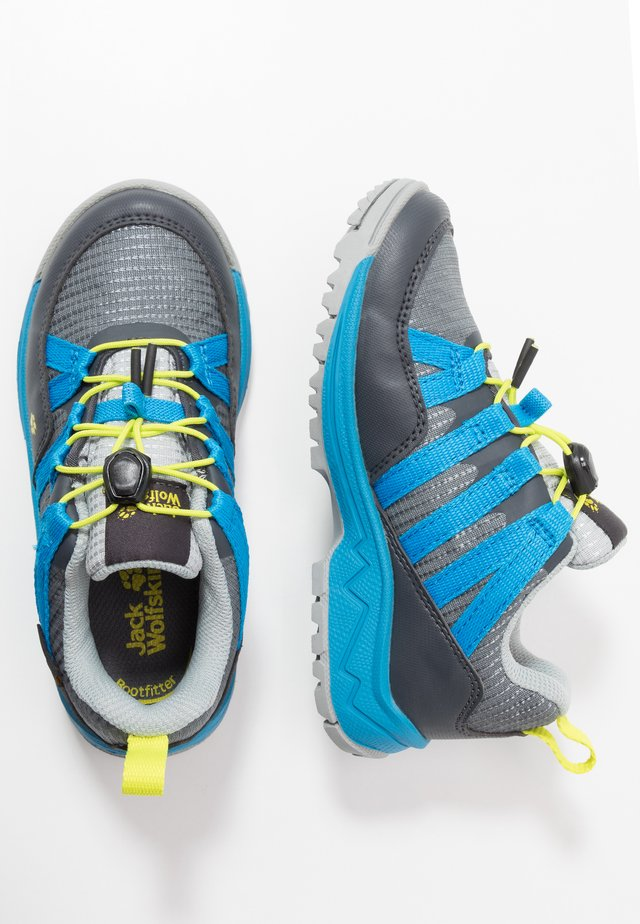 THUNDERBOLT TEXAPORE LOW  - Hiking shoes - grey/blue