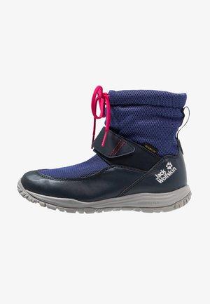 KIWI WT TEXAPORE MID - Vysoká chodecká obuv - dark blue/red