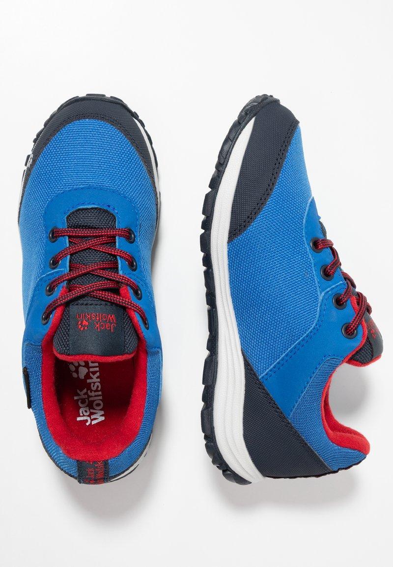 Jack Wolfskin - KIWI TEXAPORE LOW  - Hiking shoes - blue/dark blue