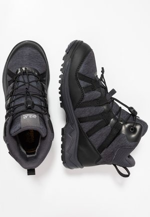 THUNDERBOLT TEXAPORE MID - Outdoorschoenen - black/dark grey