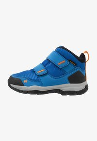 Jack Wolfskin - MTN ATTACK 3 TEXAPORE MID  - Zapatillas de senderismo - blue/orange - 1
