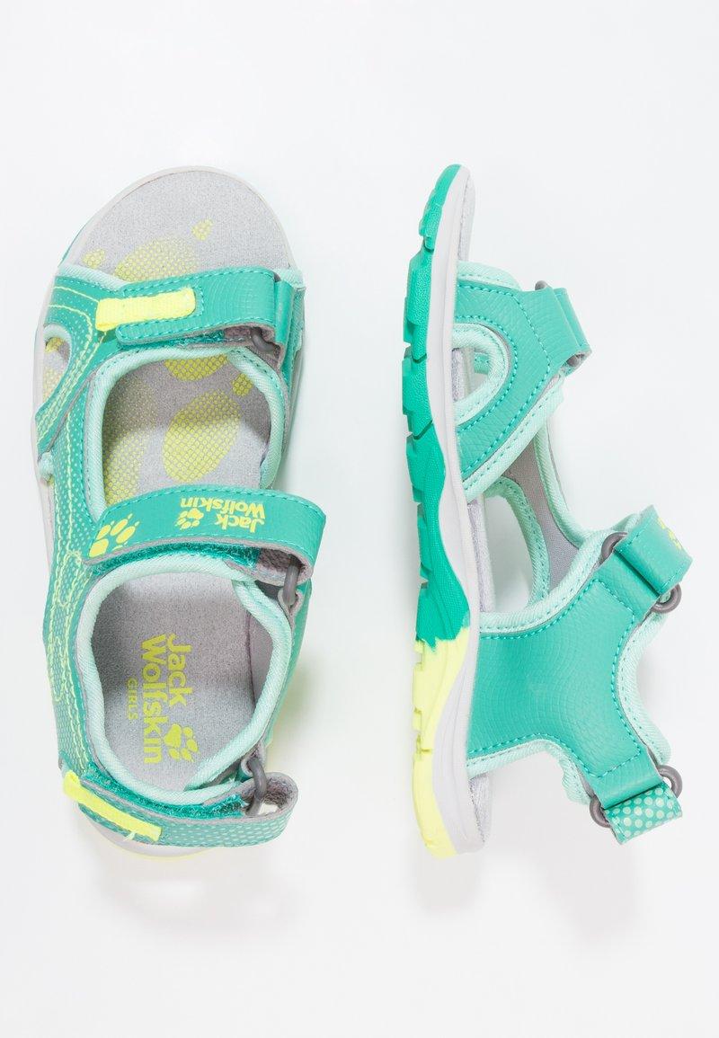 Jack Wolfskin - ACORA - Walking sandals - deep mint