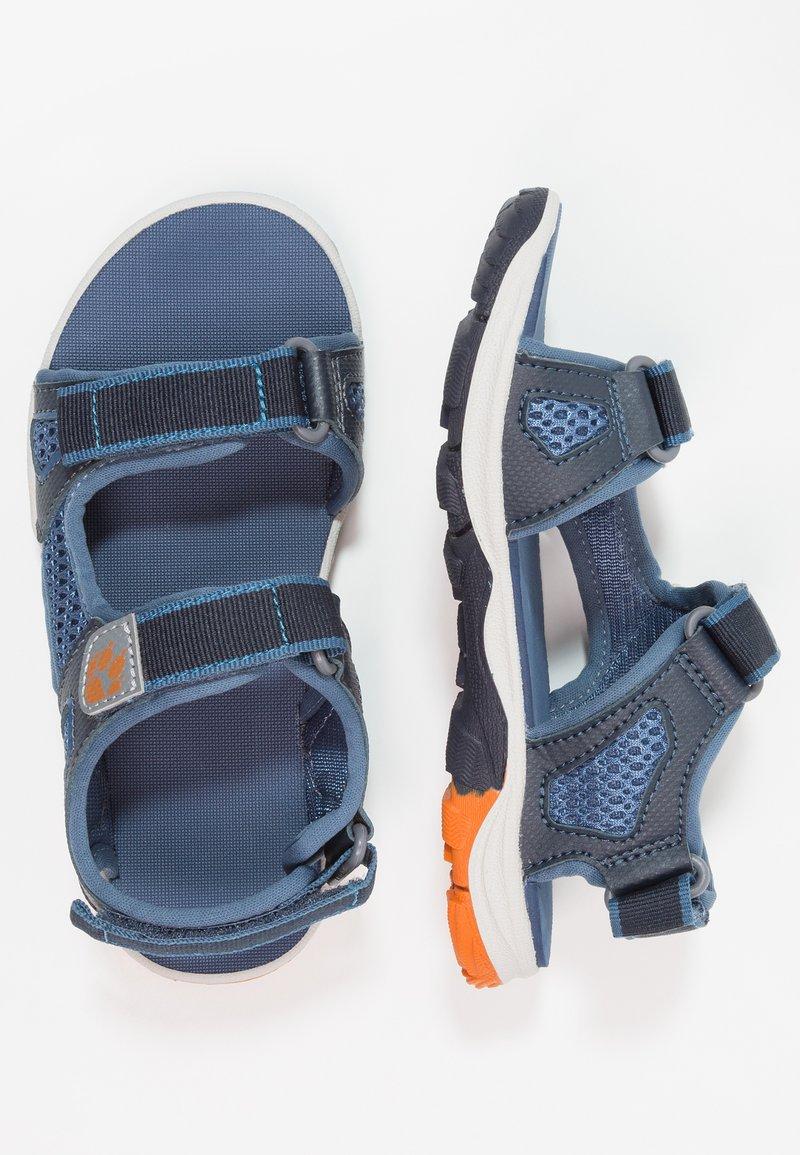 Jack Wolfskin - PUNO BEACH - Walking sandals - ocean wave