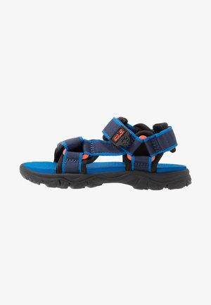 SEVEN SEAS 3 - Sandały trekkingowe - blue/orange