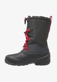 Jack Wolfskin - ICELAND TEXAPORE HIGH - Zimní obuv - black/red - 1