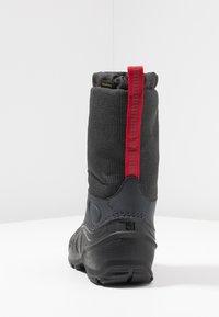 Jack Wolfskin - ICELAND TEXAPORE HIGH - Zimní obuv - black/red - 4