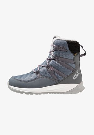 POLAR WOLF TEXAPORE HIGH - Snowboot/Winterstiefel - pebble grey/offwhite