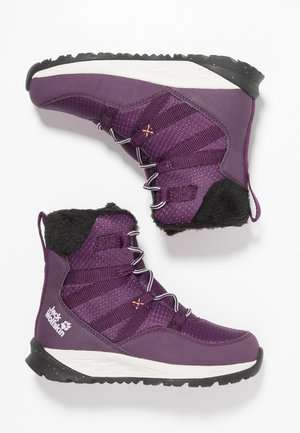 POLAR WOLF TEXAPORE HIGH - Snowboot/Winterstiefel - purple/offwhite