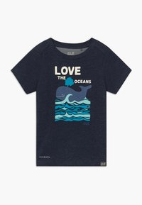 Jack Wolfskin - OCEAN KIDS - Camiseta estampada - night blue - 0