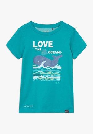 OCEAN KIDS - Print T-shirt - green ocean