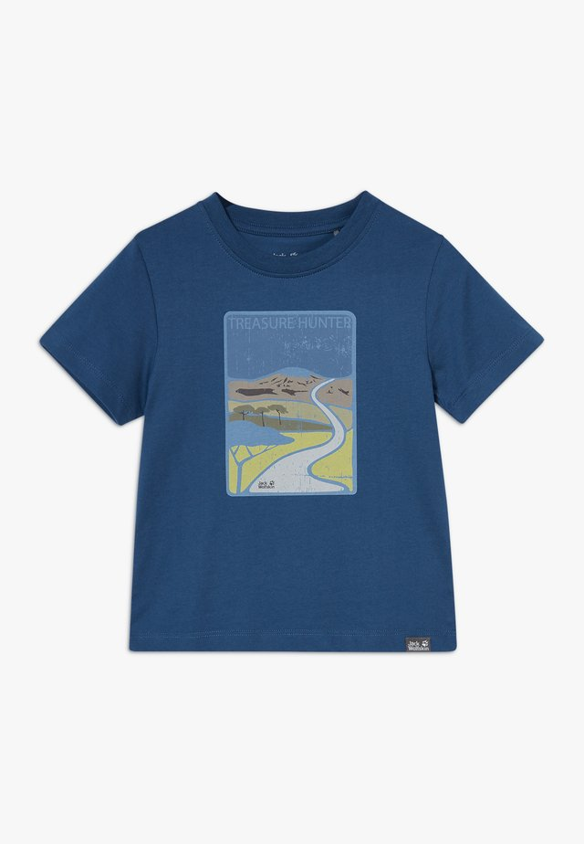 TREASURE HUNTER KIDS - Printtipaita - dark indigo