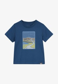 Jack Wolfskin - TREASURE HUNTER KIDS - Camiseta estampada - dark indigo - 3