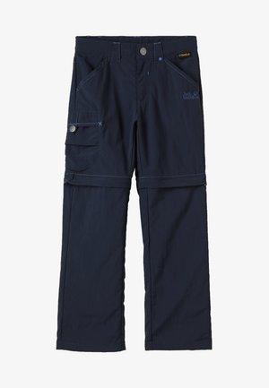 SAFARI ZIP OFF PANTS 2-IN-1 - Outdoor trousers - night blue