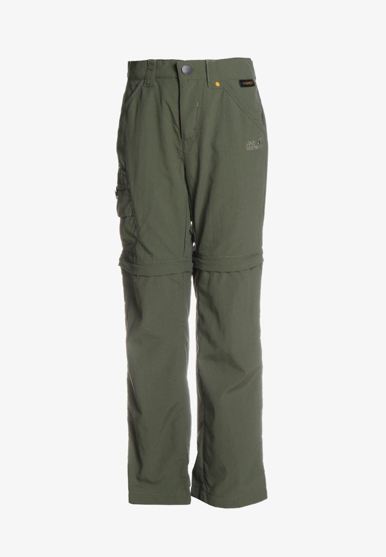 Jack Wolfskin - SAFARI ZIP OFF PANTS 2-IN-1 - Outdoor trousers - woodland green