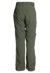 Jack Wolfskin - SAFARI ZIP OFF PANTS 2-IN-1 - Outdoorové kalhoty - woodland green - 1