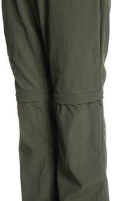 Jack Wolfskin - SAFARI ZIP OFF PANTS 2-IN-1 - Outdoorové kalhoty - woodland green - 4