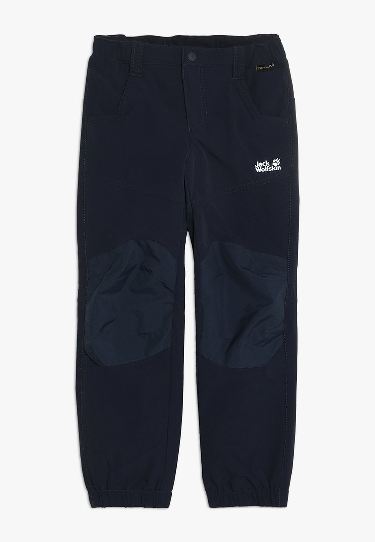 Jack Wolfskin - RASCAL WINTER PANTS KIDS - Stoffhose - midnight blue