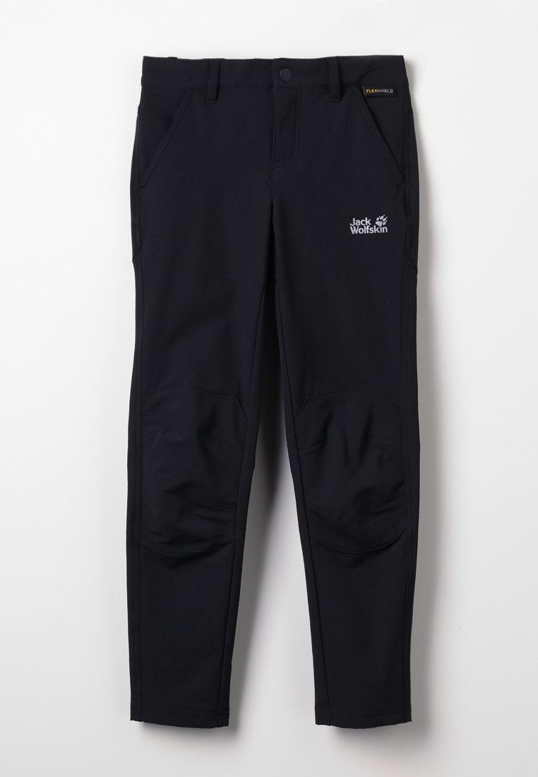 Jack Wolfskin - ACTIVATE DYNAMIC KIDS - Trousers - black