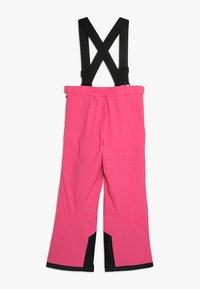 Jack Wolfskin - POWDER MOUNTAIN PANTS KIDS - Täckbyxor - pink fuchsia - 1