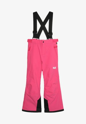 POWDER MOUNTAIN PANTS KIDS - Pantaloni da neve - pink fuchsia