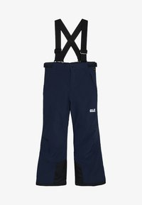Jack Wolfskin - POWDER MOUNTAIN PANTS KIDS - Schneehose - night blue - 5