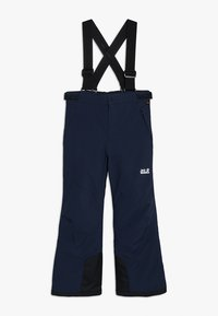 Jack Wolfskin - POWDER MOUNTAIN PANTS KIDS - Schneehose - night blue - 0