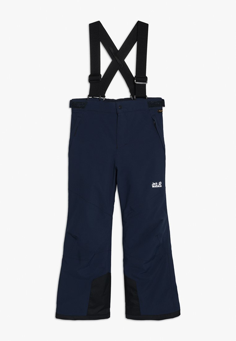 Jack Wolfskin - POWDER MOUNTAIN PANTS KIDS - Skibukser - night blue