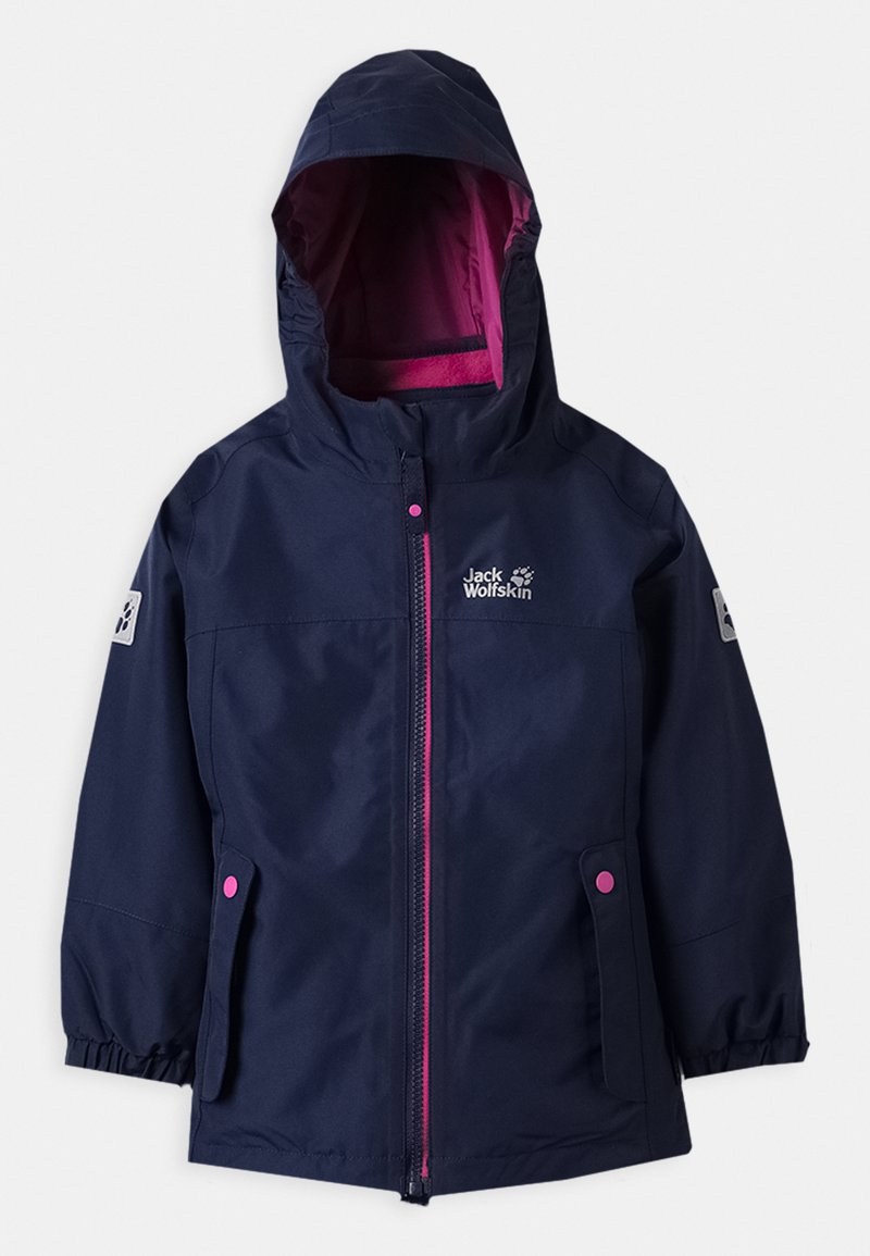 Jack Wolfskin - ICELAND 2-IN-1  - Ski jacket - midnight blue