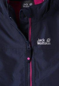Jack Wolfskin - ICELAND 2-IN-1  - Chaqueta de esquí - midnight blue - 4