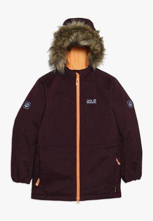 BANDAI JACKET KIDS - Winter jacket - aubergine