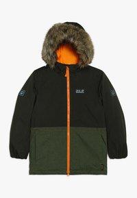 Jack Wolfskin - BANDAI JACKET KIDS - Winter jacket - antique green - 0