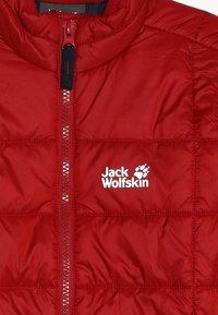 Jack Wolfskin - ARGON JACKET KIDS - Outdoor jacket - red lacquer - 5